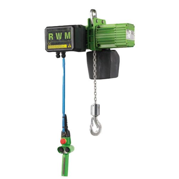 Paranco elettrico a catena rwm w alfatech sollevamento - Portata di un cavo elettrico ...