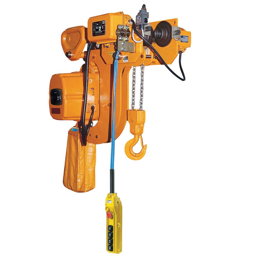 Paranco elettrico a catena kito kfr ingombro ridotto for Paranco elettrico brico