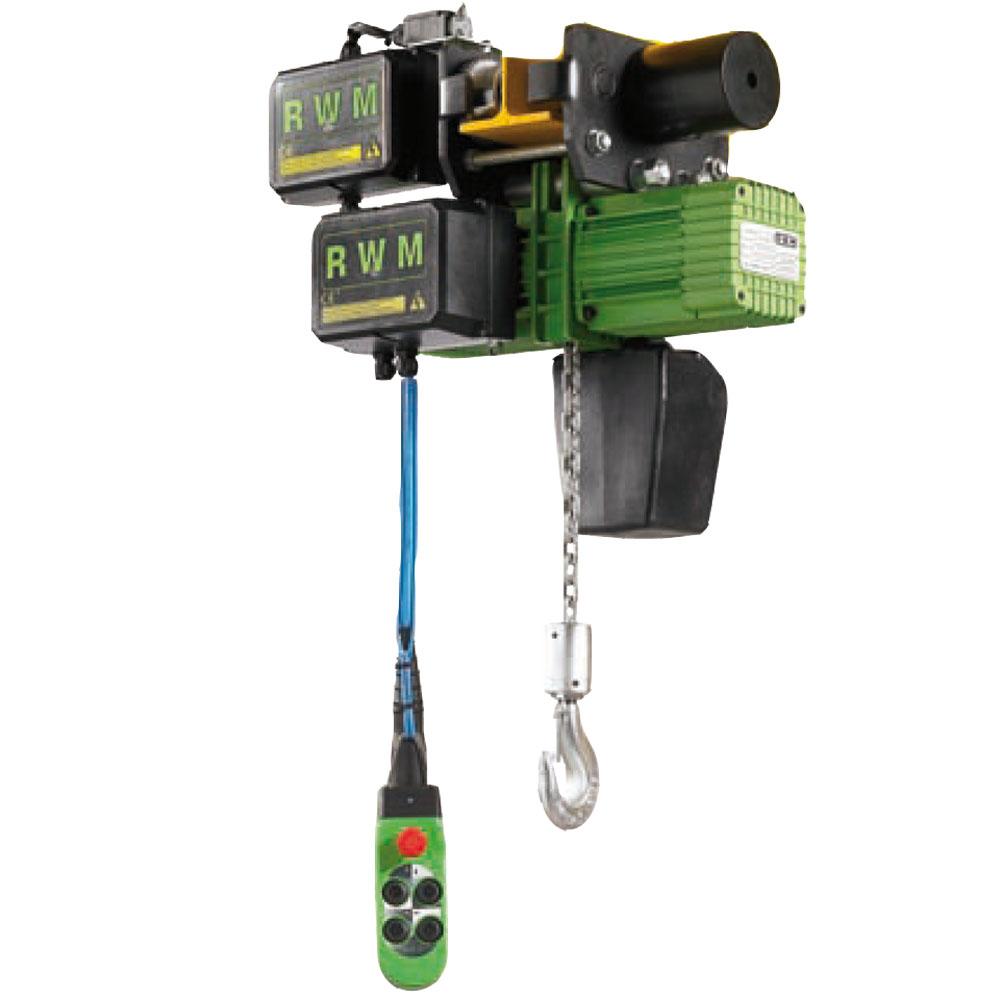 Paranco elettrico a catena rwm w ce alfatech sollevamento - Portata cavo elettrico ...