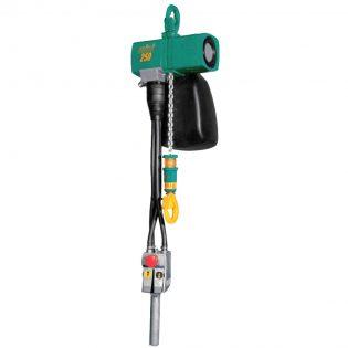 Paranco elettrico pneumatico misia jdn mini