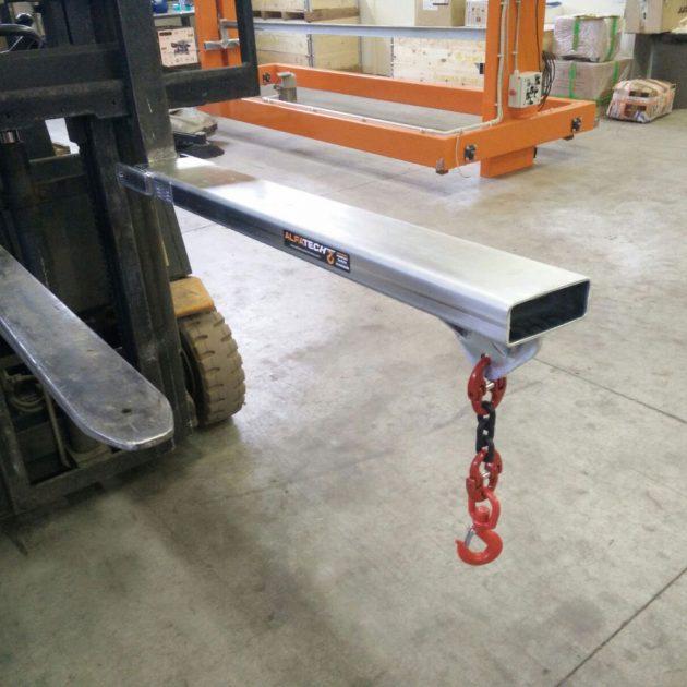 Inforcabile singolo per carrelli elevatori portata 300 Kg