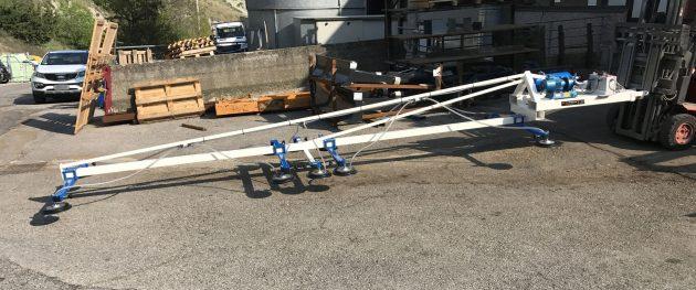 Ventose inforcabili per lamiera 10 piastre portata 300kg