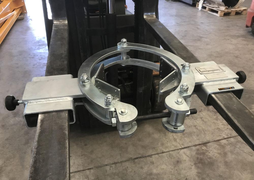 ganascia per cilindri inforcabile