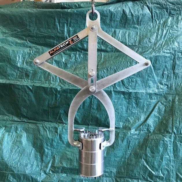 pinza per rotore
