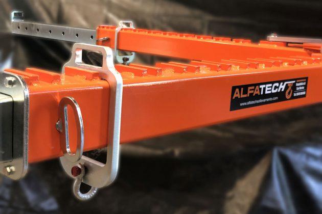 bilancino a croce telescopico particolare gancio regolabile spina di sicurezza per allungamento prolunga
