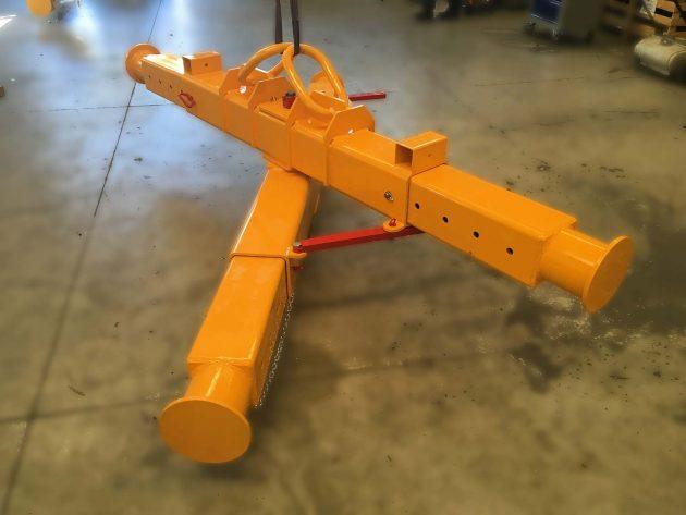 bilancino-a-croce-telescopico-richiudibile-per-nautica-giallo