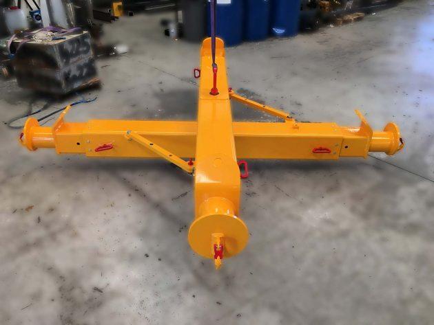 bilancino-a-croce-telescopico-richiudibile-per-nautica-giallo-aperto