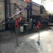 Bilancino per rotazione stampi portata 10.000kg