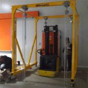 Gru a portale mini travel lift