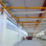 Impianto sospeso modulare erikkila portata 250kg