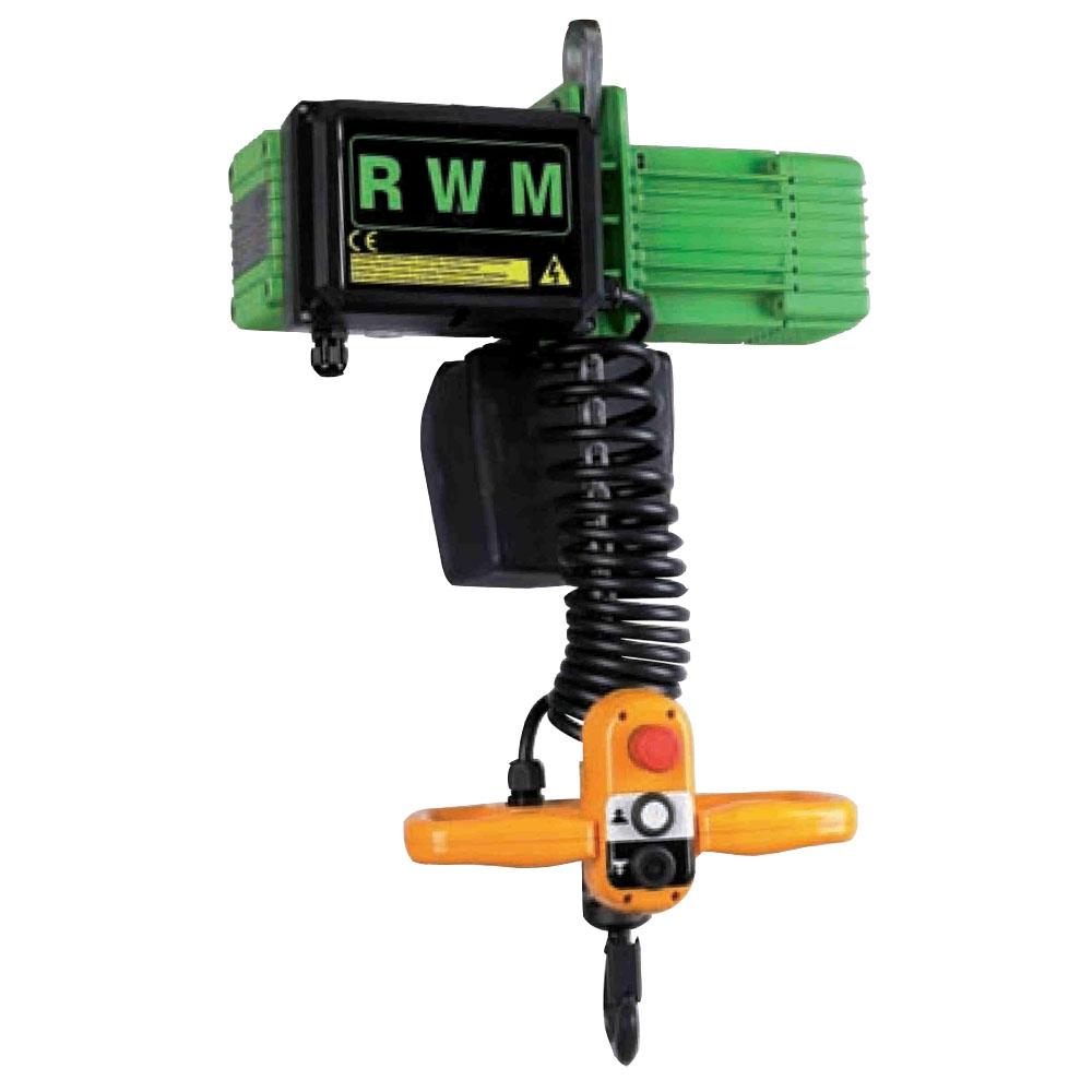 Paranco elettrico rwm pulsantiera agile