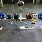 Ventosa per pannelli con ribaltamento manuale e batteria autonoma
