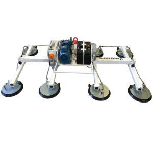 Ventosa per lamiera con batteria autonoma 8 piastre