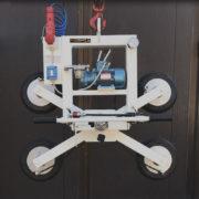 ventosa per vetro rotazione e basculamento manuale